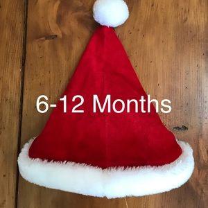 6-12 Months Santa Hat